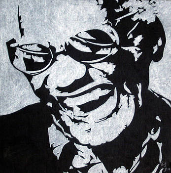 Ray Charles by Ray Johnson