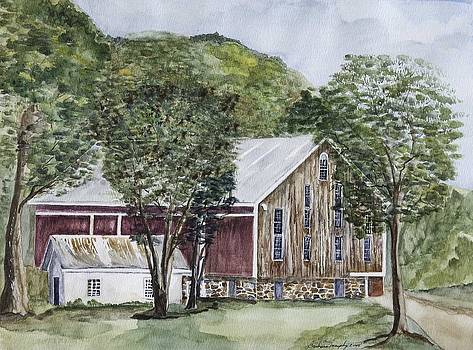 Red Barn by Barbara Murphy