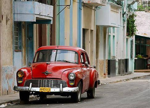 Red Car in Havana by Louise Morgan