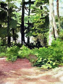 Red Deer Village Trail by Kathy Dolan