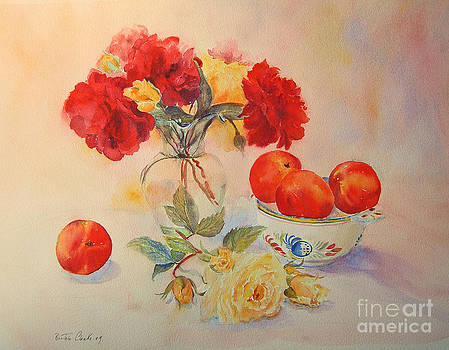 Red roses Jazz by Beatrice Cloake