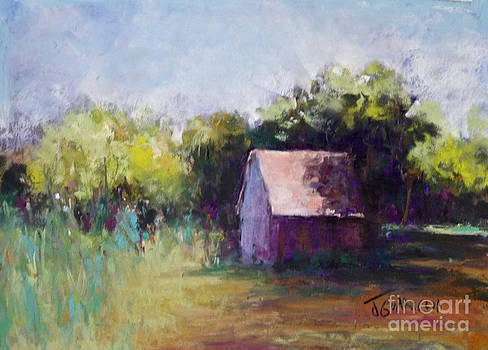 Red Shed by Joyce A Guariglia