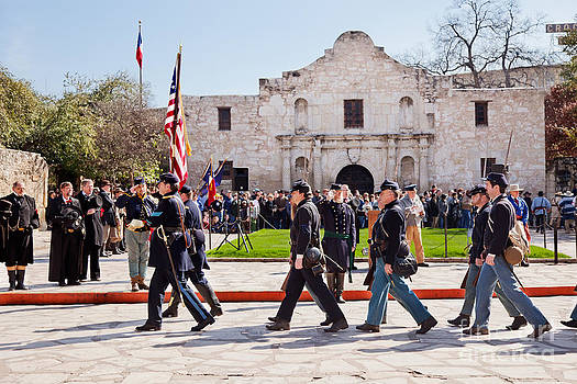 Jo Ann Snover - Reenactment of Gen Twigg surrender at the Alamo