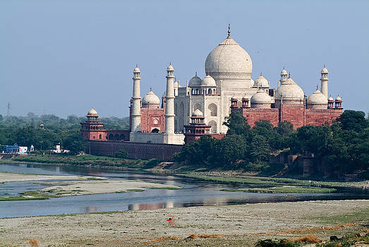 Devinder Sangha - River Ganges and Taj Mahal