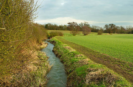 Fizzy Image - river running through english countryside