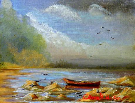 Roaring Wind  by Clara H Marton