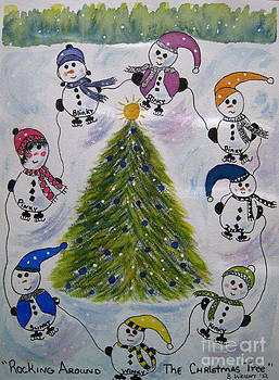 Rocking Around The Christmas Tree by Bonnie Wright