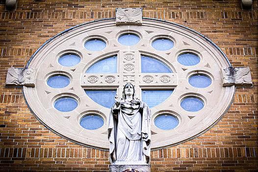 Sacred Heart Church Milford MA by James Wellman