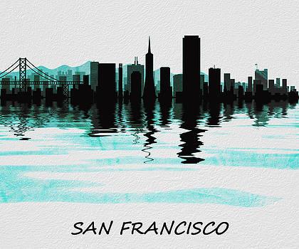 David Pringle - San Francisco Skyline