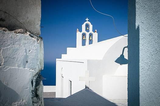 Santorini Church by Bjoern Kindler