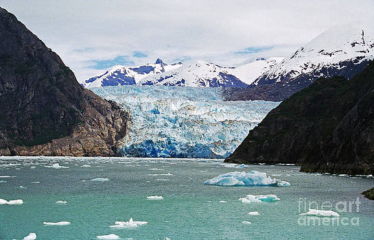 Sawyer Glacier by Adam Dowling