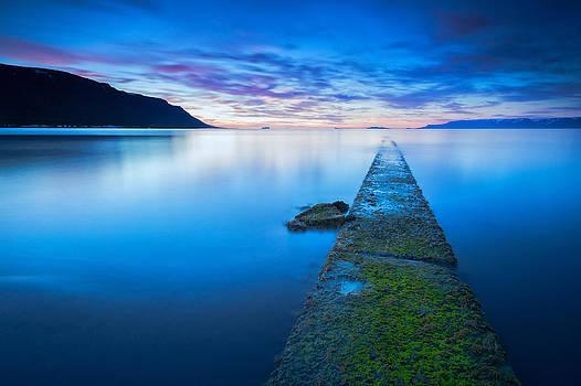 Seascape by Arnar B Gudjonsson