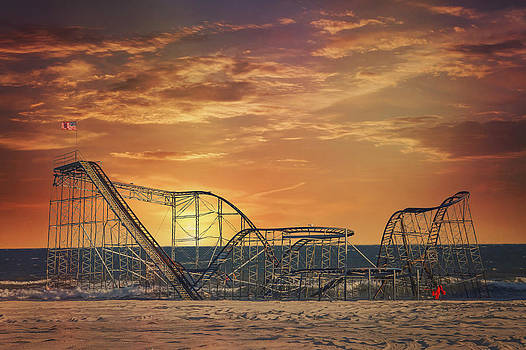 Seaside Coaster by Kim Zier