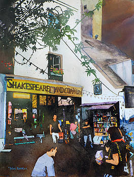 Shakespeare and Company by John Ressler