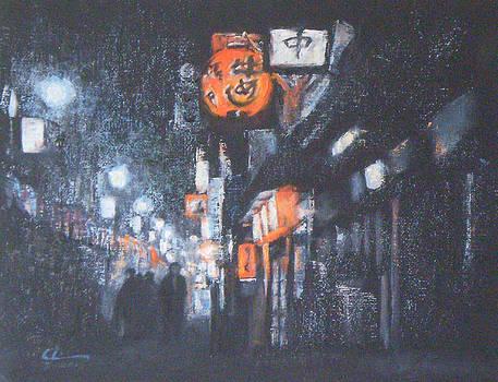 Shinjuku  Japan by Chisho Maas