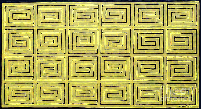Simple Mazes No.1 by Trevor Todd