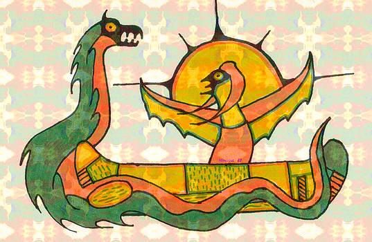Monique Montney - Snake and Bird Spirit