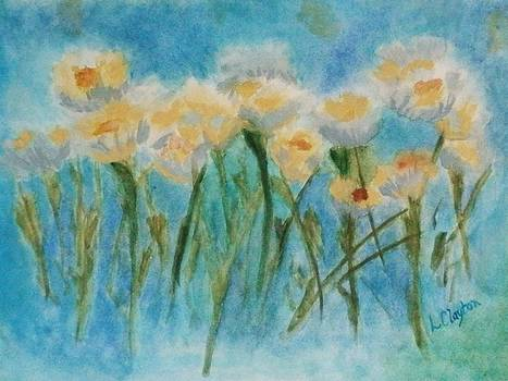 Soft Daisies by Lynette Clayton