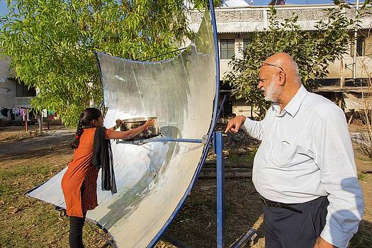 Solar Cooker by Ashley Cooper