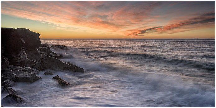 Spoon Bay Sunrise by Steve Caldwell