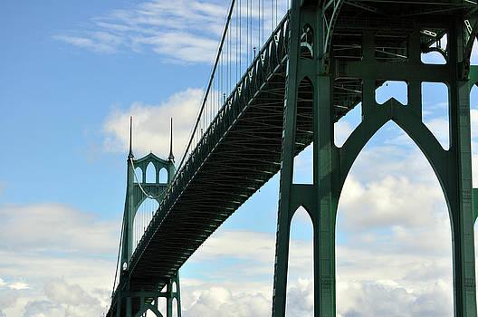 St. John's Bridge by Heather L Wright
