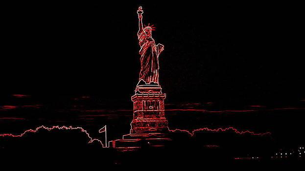 Statue Liberty by Scott Schlaff