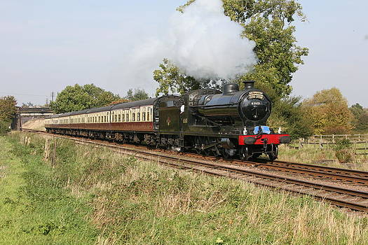 Mark Severn - steam train