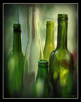 Still Life Green Glass by Linda Seifried