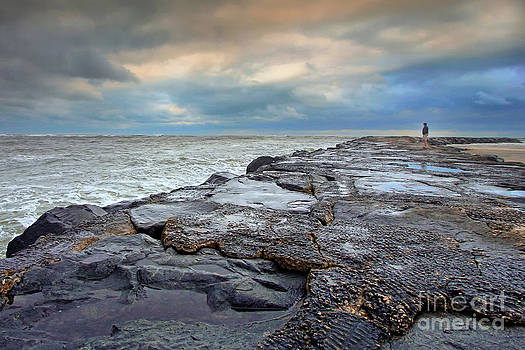 Storm Blowing Out by Geoff Crego