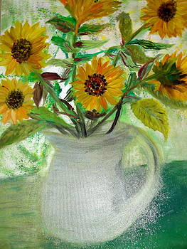 Sunflower by Janet Herbert