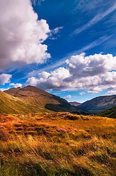 Jenny Rainbow - Sunny Day at Rest and Be Thankful. Scotland