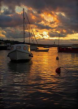 Sunset at Teignmouth by Pete Hemington