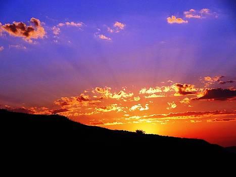 Sunset by Faouzi Taleb
