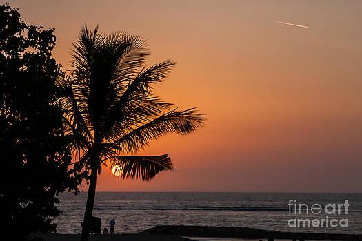 Fototrav Print - Sunset on Kuta beach Bali Indonesia