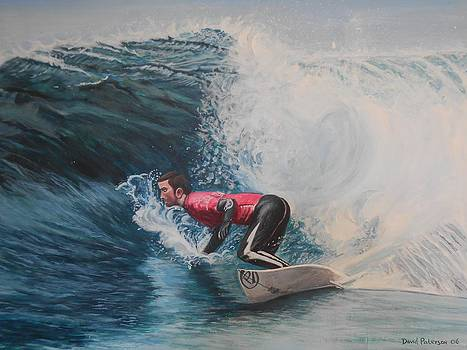 Surfer by David Paterson