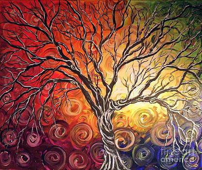 Swirl Tree by Susan Wahlfeldt