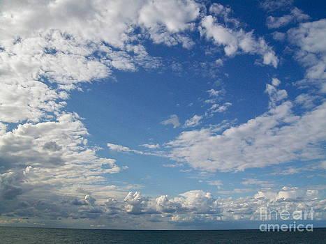Swirly Sky by Linda Zolten Wood