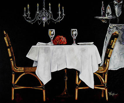 Table for Two by Vickie Warner