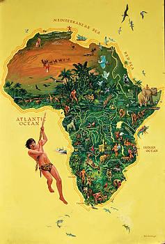 Tarzan Poster by Mel Greifinger
