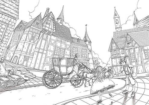 The Bavarian Village by Reynold Jay