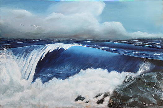 The Blue Pacific by Lou Magoncia