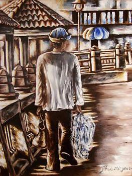 The fisherman of Alexandria by Ghada Ali yousri