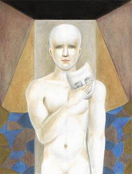 The Mask Porcelain Man by Reve Art