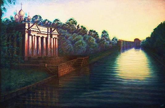 The Moika River by Raffi Jacobian