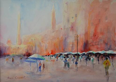 The Plaza by Terri Cowart