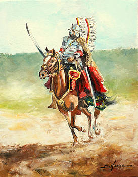 The Polish Winged Hussar by Luke Karcz