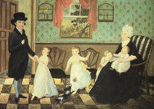 The Sargent Family by Artist Unknown