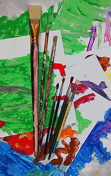 The Young Artists Canvas by Jennifer Muller