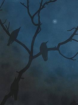Robin Street-Morris - Three Birds with Evening Star