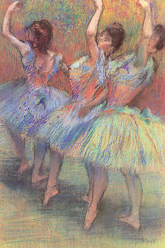 Edgar Degas - Three Dancers